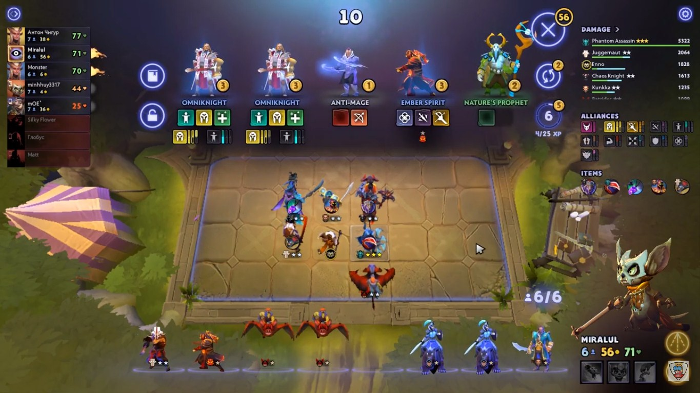game online Dota Underlords