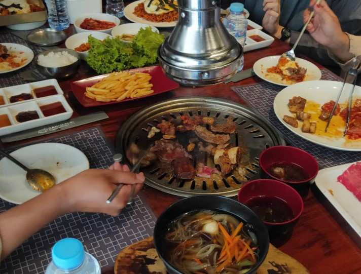 all you can eat malang dakgalbi resto